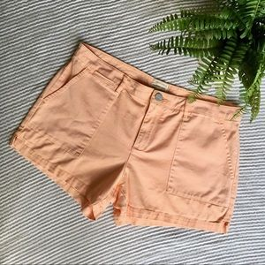 3/$30 Sanctuary Standard Surplus Shorts Orange